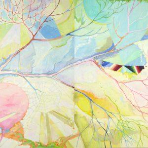 はるま 2014/キャンバス、油彩/ H:162cm × W:260cm